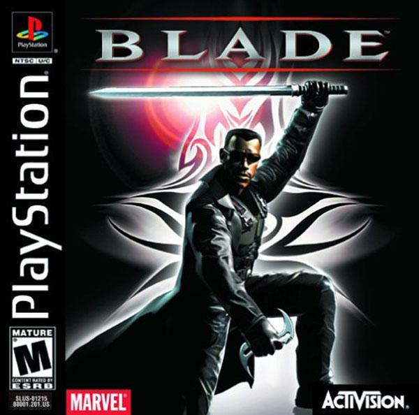 Blade [U] [SLUS-01215] front cover