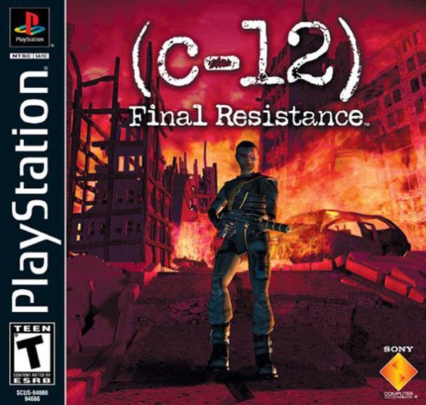C-12 - The Final Resistance [U] [SCUS-94666] front cover