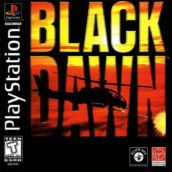 Black Dawn [U] [SLUS-00321] front cover