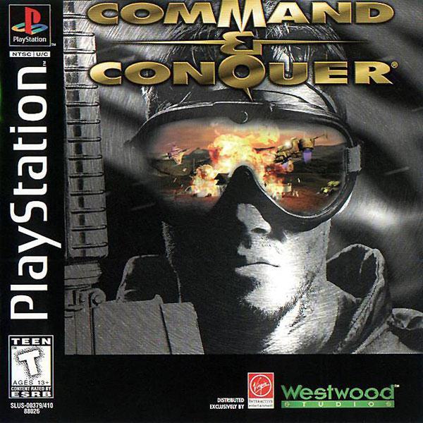Command & Conquer [GDI Disc] [U] [SLUS-00379] front cover