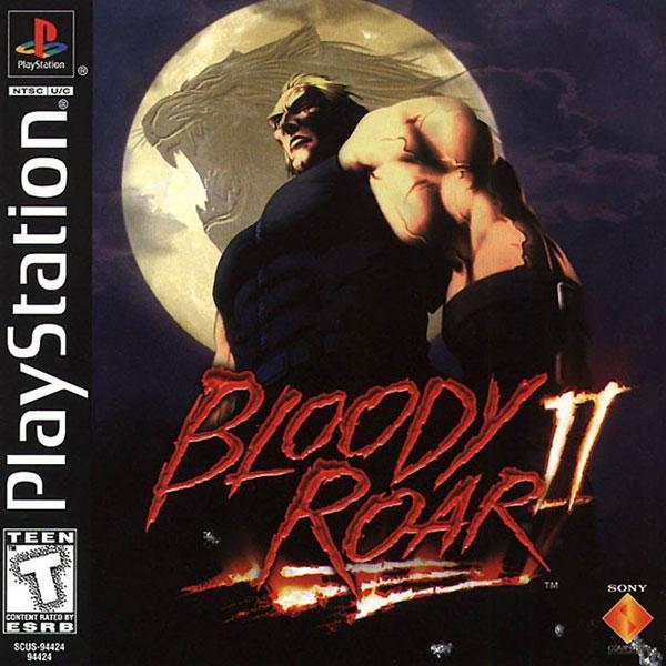 Bloody Roar 2 [U] [SCUS-94424] front cover