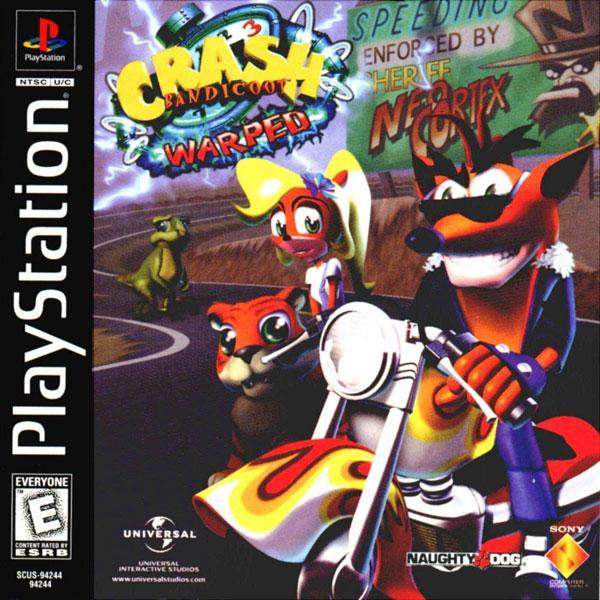 Crash Bandicoot 3 - Warped [U] [SCUS-94244] front cover