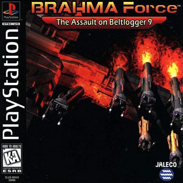 Brahma Force [U] [SLUS-00444] front cover