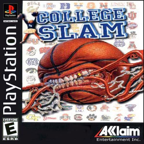 College Slam [U] [SLUS-00196] front cover