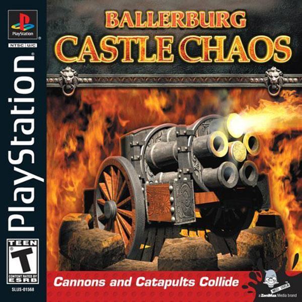 Ballerburg - Castle Chaos [U] [SLUS-01568] front cover