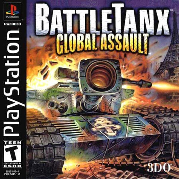Battletanx - Global Assault [U] [SLUS-01044] front cover