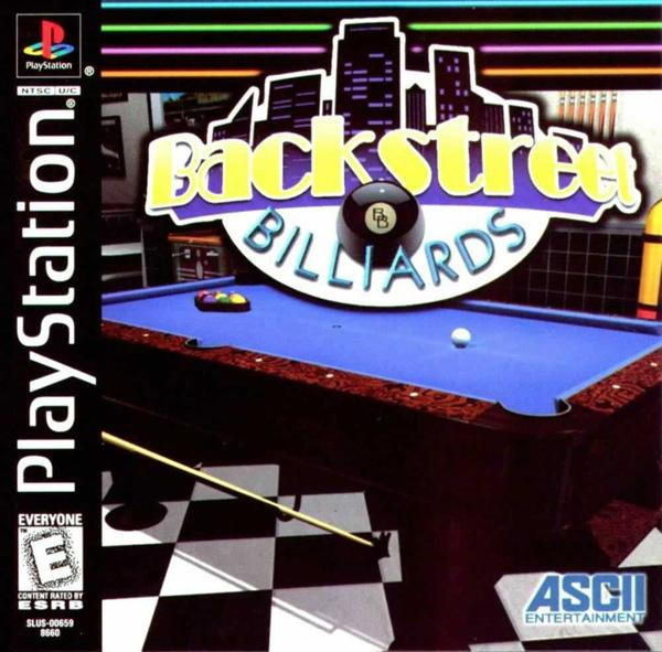 Backstreet Billiards [U] [SLUS-00659] front cover