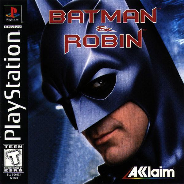 Batman & Robin [U] [SLUS-00393] front cover