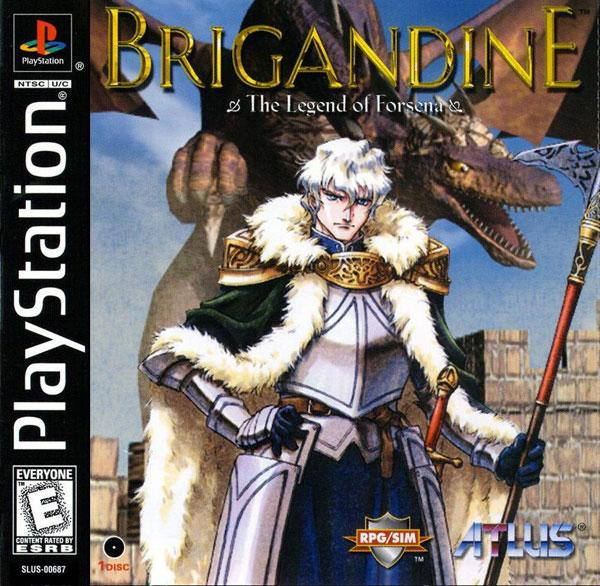 Brigandine - Legend of Forsena [U] [SLUS-00687] front cover