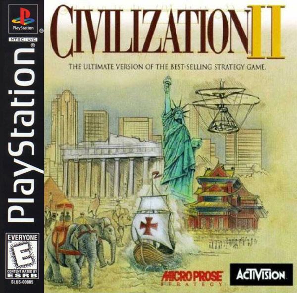 Civilization II [U] [SLUS-00792] front cover