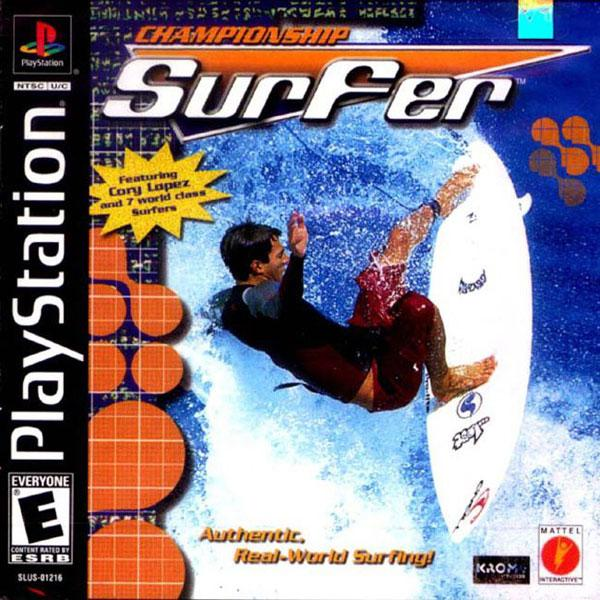 Championship Surfer [U] [SLUS-01216] front cover