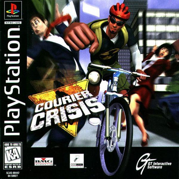 Courier Crisis [U] [SLUS-00442] front cover
