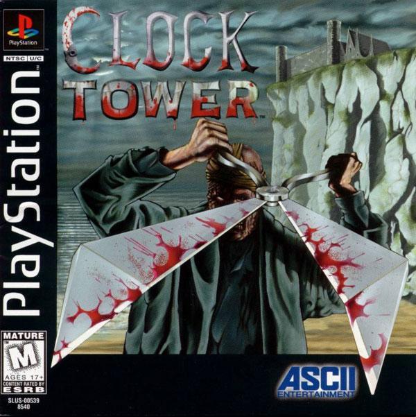 Clock Tower [U] [SLUS-00539] front cover