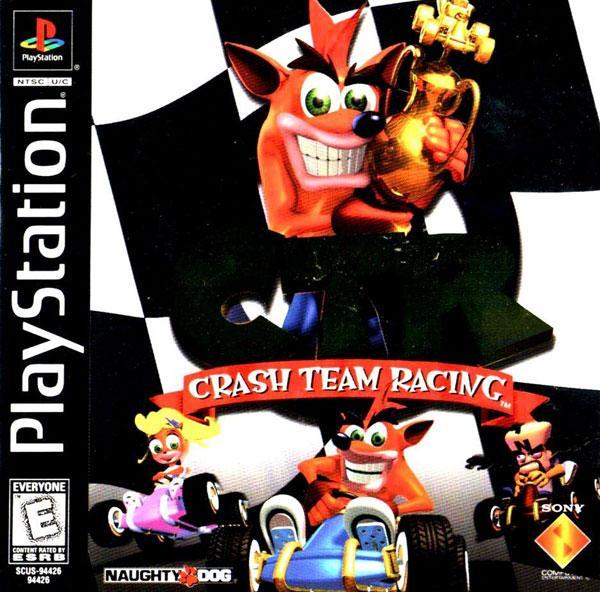 Crash Team Racing [U] [SCUS-94426] front cover