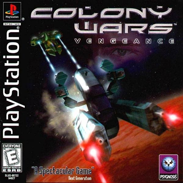 Colony Wars Vengeance [U] [SLUS-00722] front cover