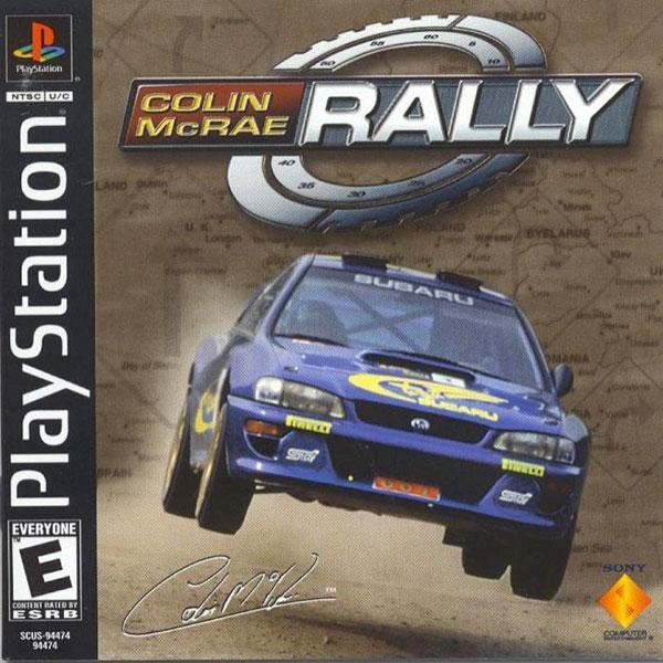 Colin McRae Rally [U] [SCUS-94474] front cover
