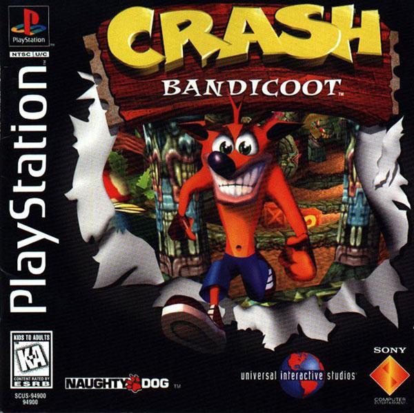 Crash Bandicoot [U] [SCUS-94900] front cover