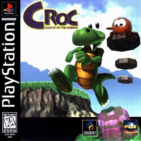 Croc - Legend of the Gobbos [U] [SLUS-00530] front cover