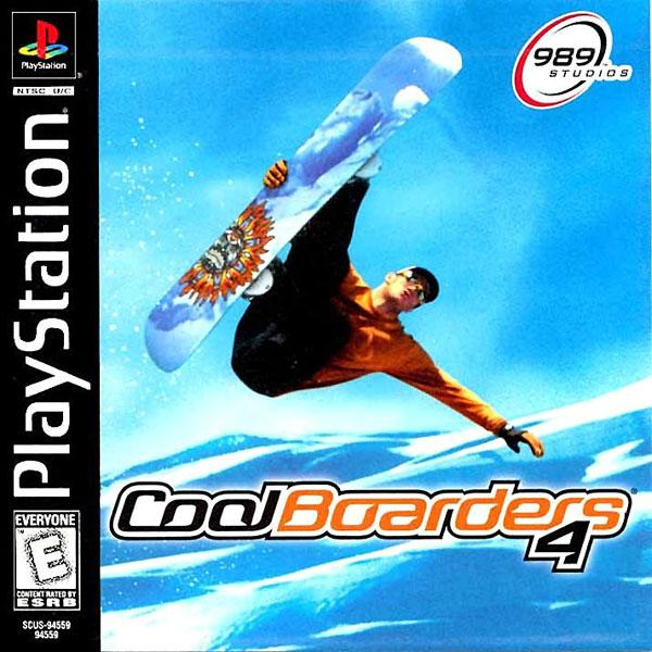 Cool Boarders 4 [U] [SCUS-94559] front cover