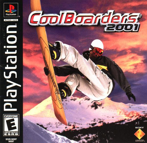 Cool Boarders 2001 [U] [SCUS-94597] front cover