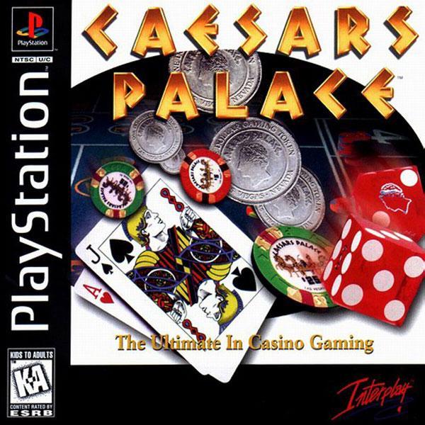 Caesar's Palace [SLUS-00285] front cover