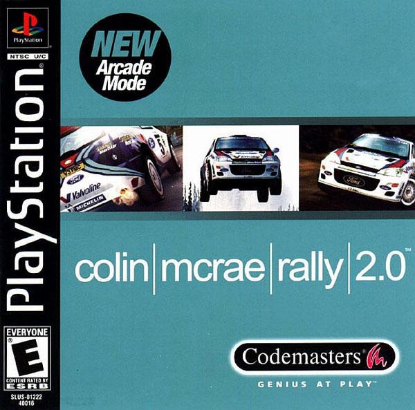 Colin McRae Rally 2.0 [U] [SLUS-01222] front cover