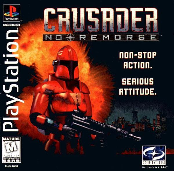 Crusader - No Remorse [U] [SLUS-00268] front cover