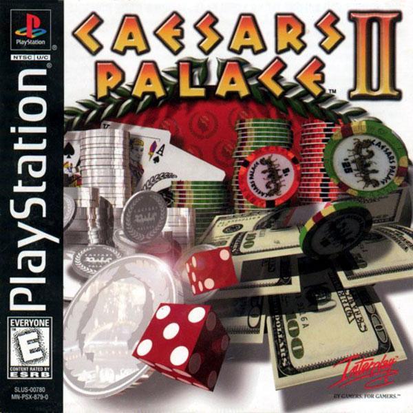 Caesar's Palace II [U] [SLUS-00780] front cover