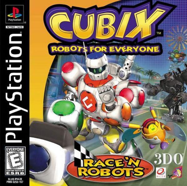 Cubix Robots for Everyone - Race'n Robots [U] [SLUS-01422] front cover