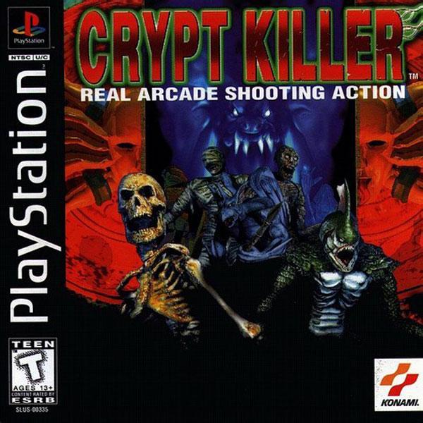 Crypt Killer [U] [SLUS-00335] front cover