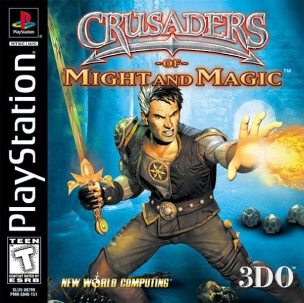 Crusaders of Might and Magic [U] [SLUS-00799] front cover