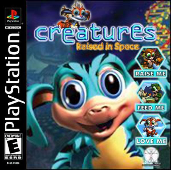 Creatures - Raised in Space [U] [SLUS-01553] front cover