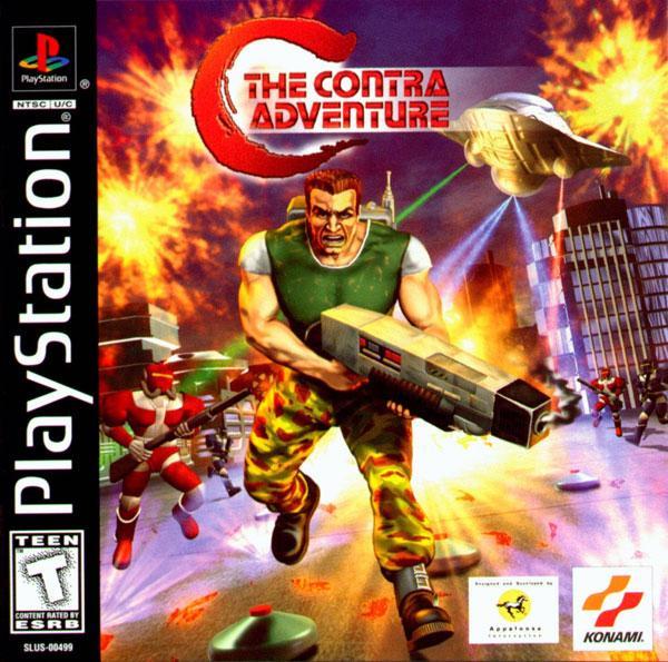 C - The Contra Adventure [U] [SLUS-00499] front cover