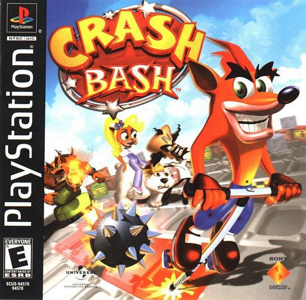 Crash Bash [U] [SCUS-94570] front cover
