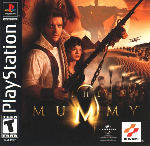 Mummy, The [U] [SLUS-01187] front cover