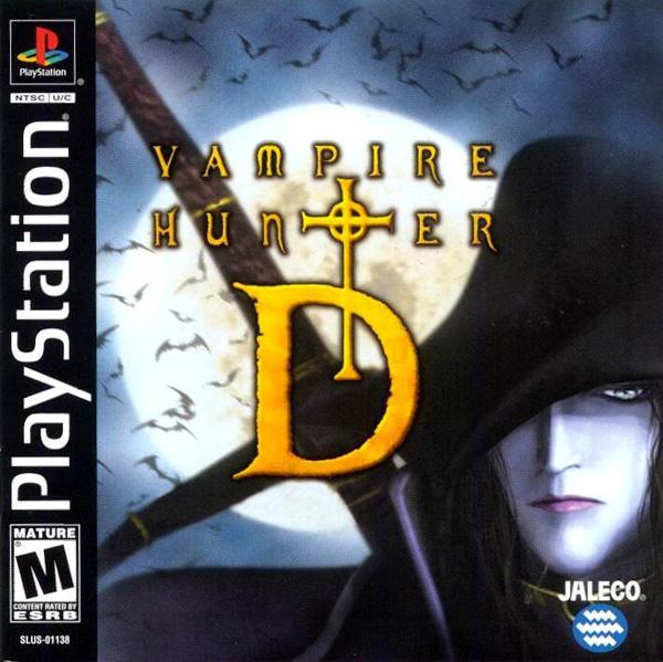 Vampire Hunter D [U] [SLUS-01138] front cover