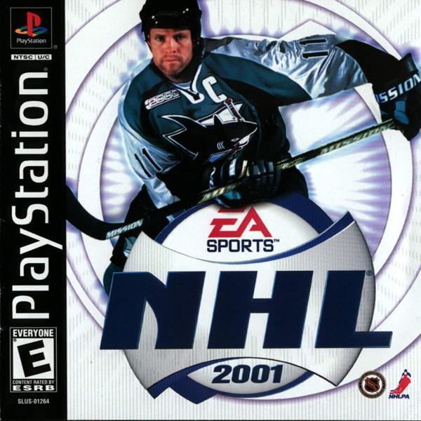 NHL 2001 [U] [SLUS-01264] front cover