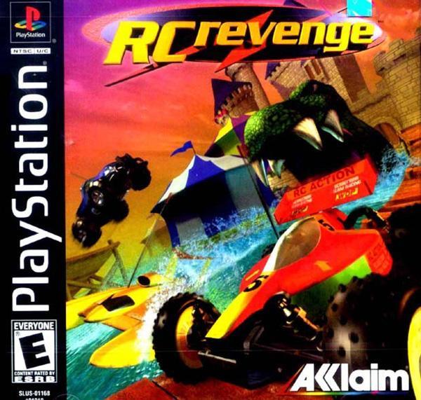 RC Revenge [U] [SLUS-01168] front cover