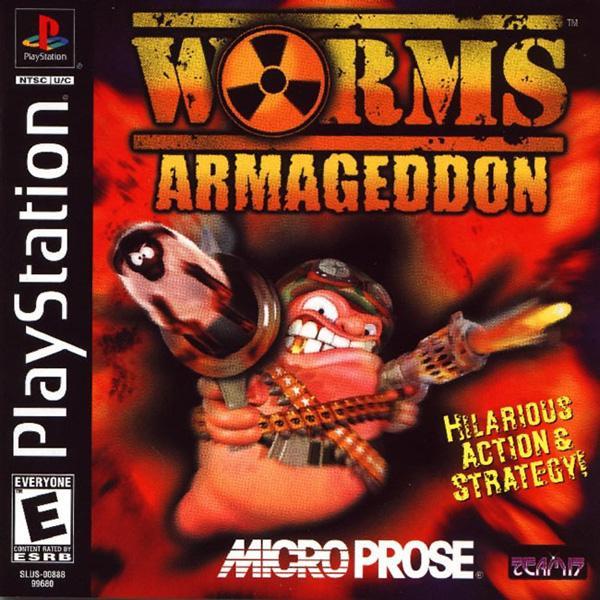 Worms Armageddon [U] [SLUS-00888] front cover