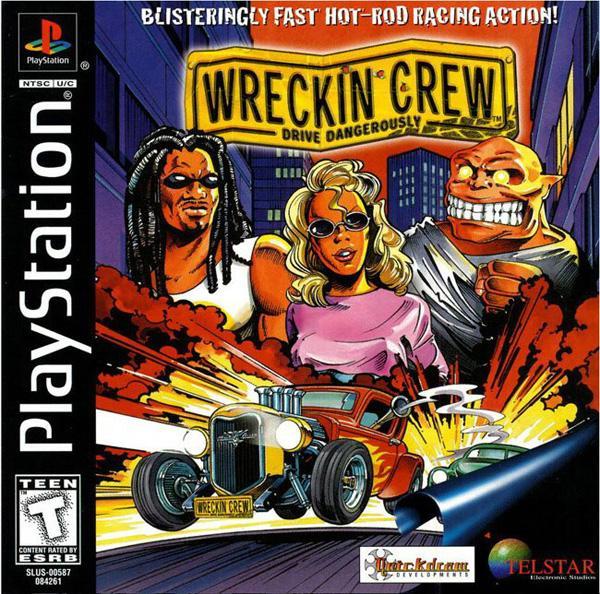 Wreckin' Crew [U] [SLUS-00587] front cover