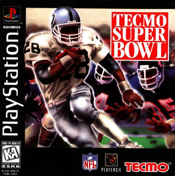 Tecmo Super Bowl [U] [SLUS-00070] front cover