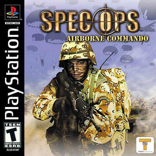 Spec Ops - Airborne Commando [U] [SLUS-01447] front cover