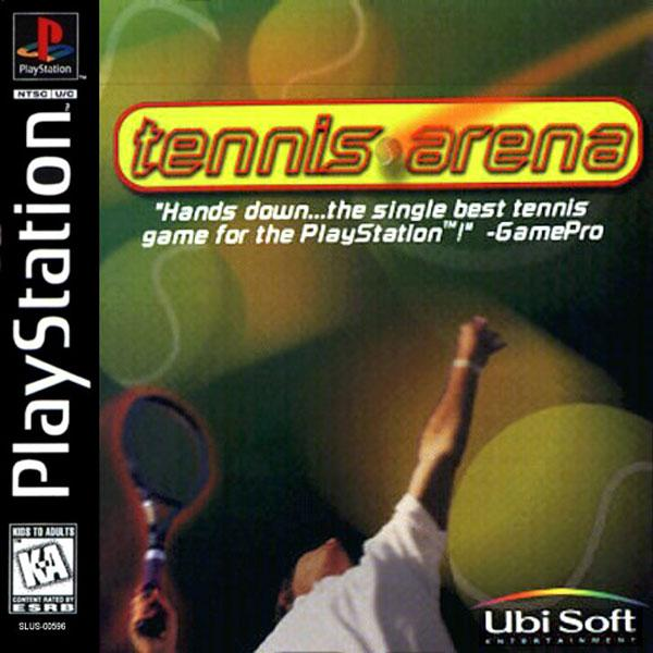 Tennis Arena [U] [SLUS-00596] front cover