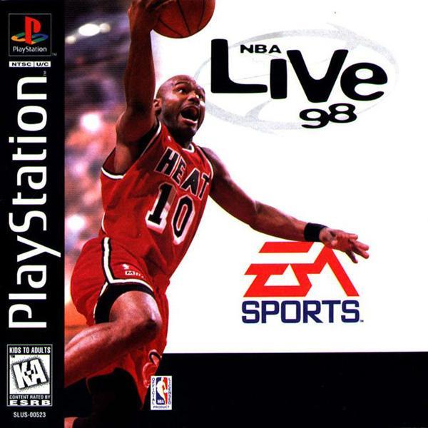 NBA Live '98 [U] [SLUS-00523] front cover
