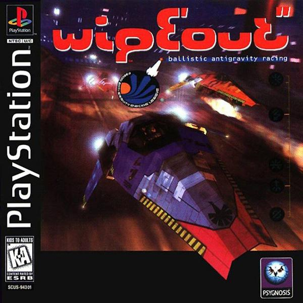 Wipeout [U] [SCUS-94301] front cover