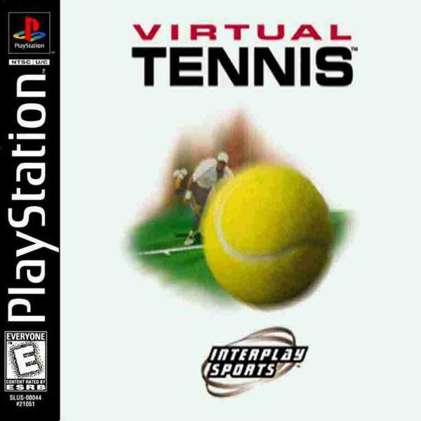 Virtual Open Tennis [U] [SLUS-00218] front cover