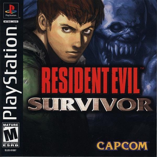 Resident Evil - Survivor [U] [SLUS-01087] front cover