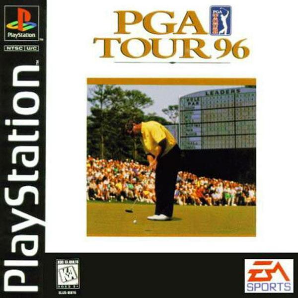 PGA Tour '96 [U] [SLUS-00016] front cover