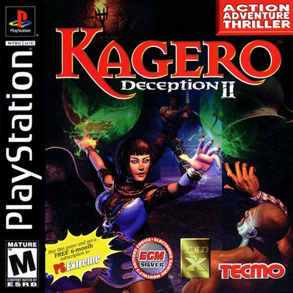Kagero - Deception II [U] [SLUS-00677] front cover
