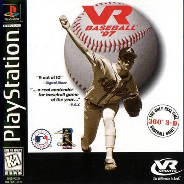 VR Baseball '97 [U] [SLUS-00281] front cover